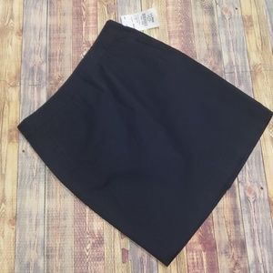 L.L.BEAN WASHED COTTON CHINO SKIRT MISSES SIZE 8